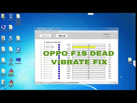Oppo F1s A1601 DeadVibrate Fix By Official Firmware Download