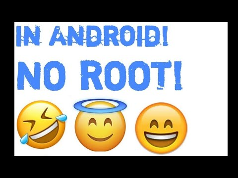 iOS 10 Emojis on Android (NO ROOT)!!