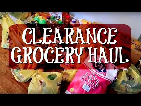 $150+ Clearance Grocery Haul and a Costco Haul! | April 2018 Large Family Grocery Budget
