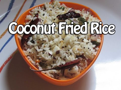 Coconut fried rice - Diet Kitchens