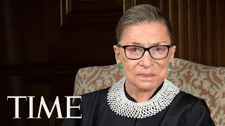 US Supreme Court Justice Ruth Bader Ginsburg Discusses Her Impressive Life And Career   TIME