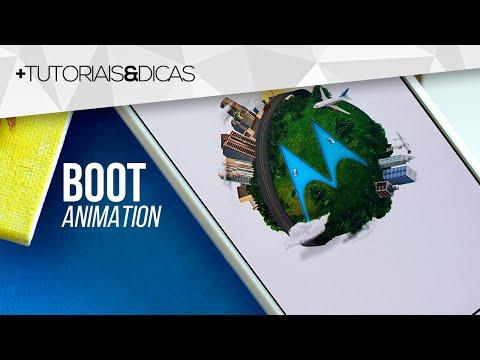 Como alterar a ANIMAÇÃO que aparece ao ligar seu Android | BootAnimation