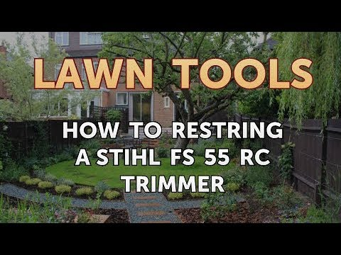 How to Restring a Stihl FS 55 RC Trimmer
