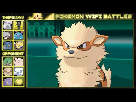 Arcanine's Fiery Attacks! (Pokemon X and Y Wifi Battle)