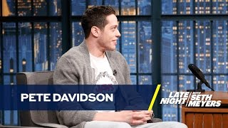 Pete Davidson Reviews His New Tattoos
