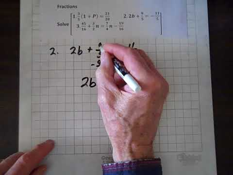 Introductory Algebra Fractions
