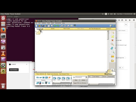 How to Install Cisco  Packet Tracer 6.2 in Ubuntu [Wokring]