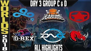 Download Worlds 2018 Day 3 Highlights Play in Stage ALL GAMES Video