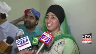 Famous comedian Iftikhar thakur came to Gurdwara Janam Asthan on the request of Sikh guest