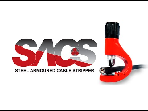 Steel Armoured Cable (SWA) Stripper - SACS Tool