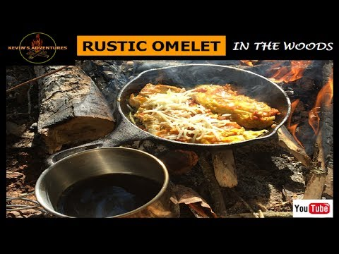 Bushcraft Omelet & Coffee