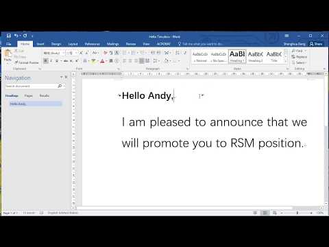 MS Word, Mailings merge, split into individual files