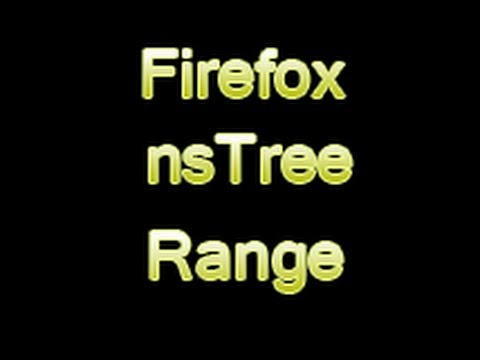 Backtrack Firefox nsTree Range Vulnerability on Win XP SP3
