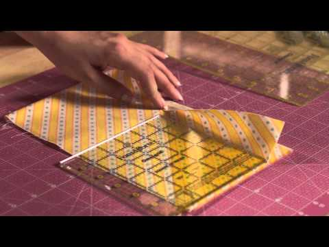 Quilty Boot Camp: How to Cut Strips Accurately