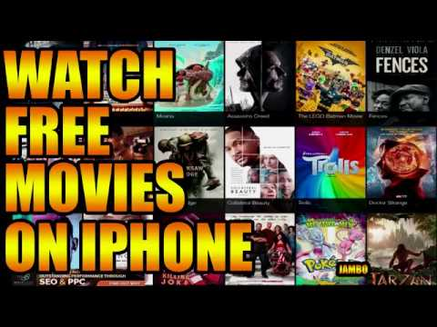 How to Watch FREE Movies on IPHONE & IPAD (FREE IPHONE MOVIES)
