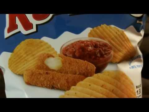 Taste Test: Ruffles mozzarella and marinara chips 4.24.18