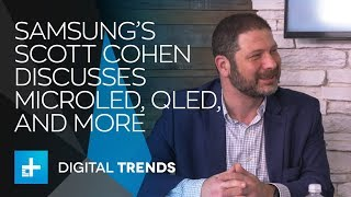 Scott Cohen NTL Training Manager of Samsung Electronics - Booth Interview at CES 2018