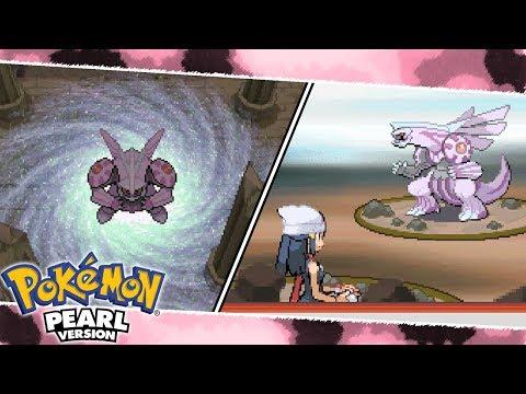 Awakening and Catching Palkia | Pokemon Pearl