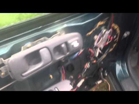 Power window off track repair