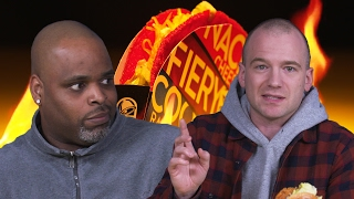 Download Sean Evans and Daym Drops Review the Spiciest Fast-Food Menu Items Video