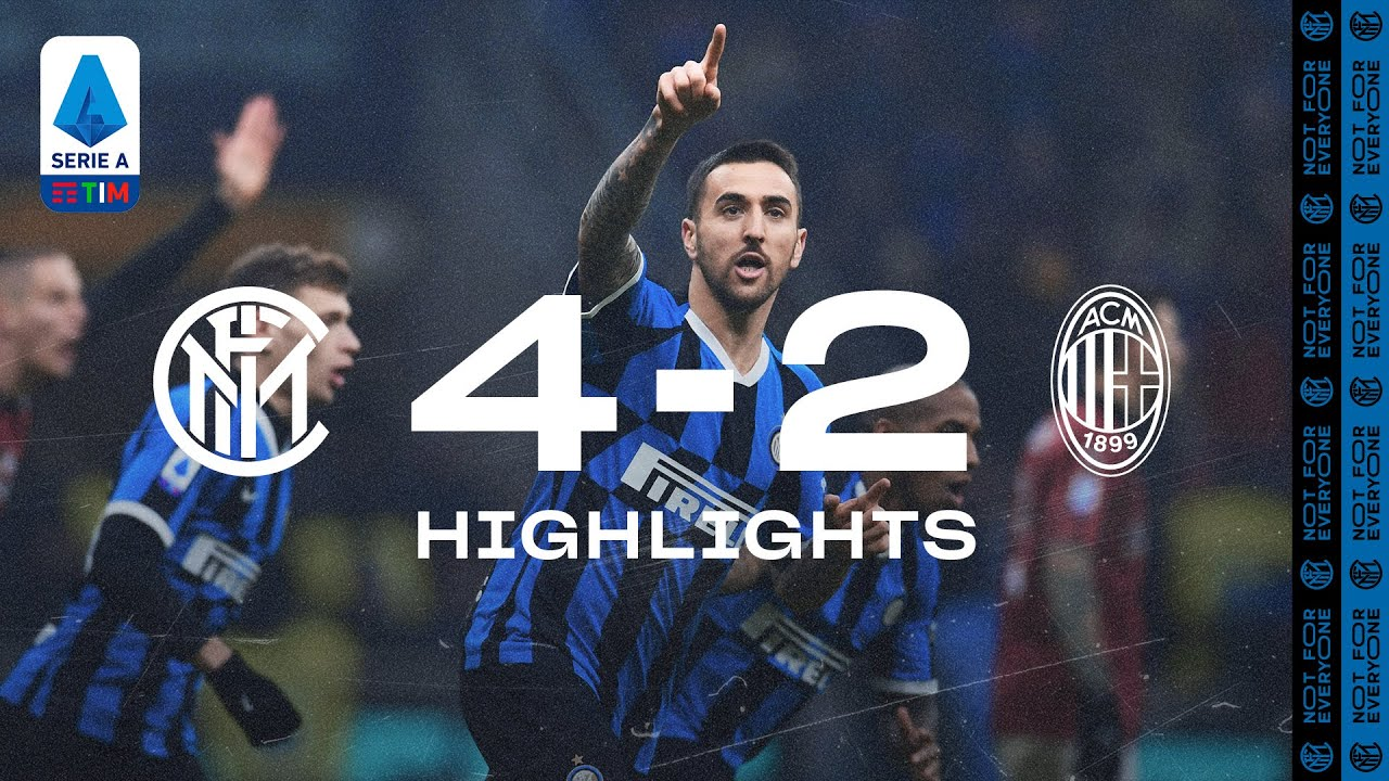 INTER 4-2 AC MILAN   HIGHLIGHTS   A comeback for the ages! 😍⚫🔵