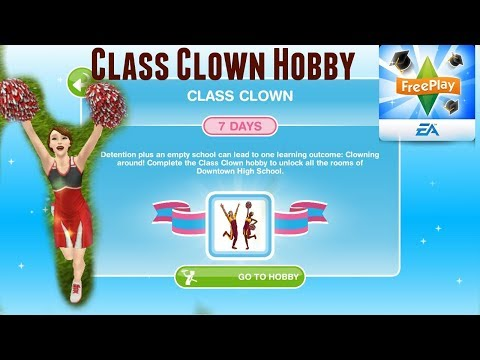 Simsfreeplay - Class Clown Hobby