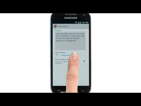 Web Browsing with Google Chrome - Samsung Galaxy S 4 mini (Verizon Wireless, SCH-i435)