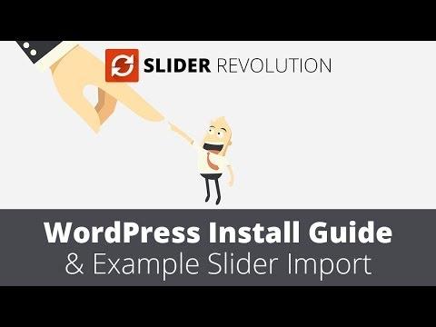 Slider Revolution 4.0 WordPress Plugin Installation Guide