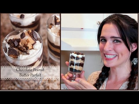 How to Make a Chocolate, Peanut Butter Parfait! | Jenny Lynne