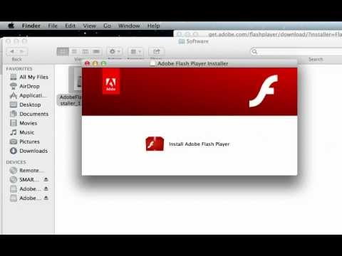 How to update Adobe Flash Player on Mac OS