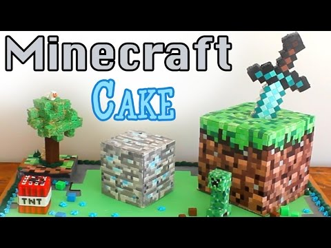 Minecraft Cake | BananaJamana!