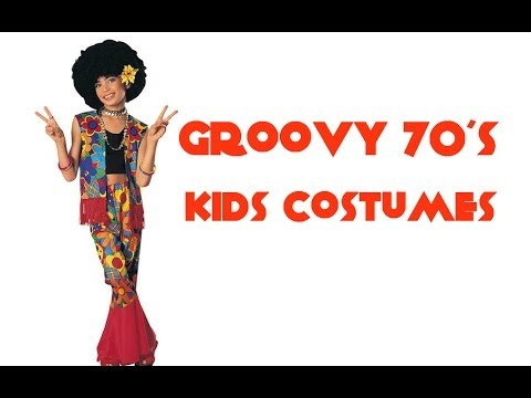Kids 60s and 70s Costumes