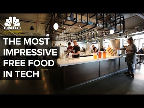 Which Tech Companies Have The Best Free Snacks | CNBC