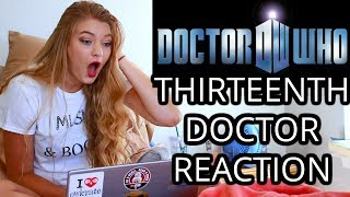 DOCTOR WHO ♡ THIRTEENTH DOCTOR REACTION!