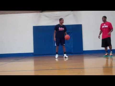 Basketball Workout: Weak Hand Dribble Series