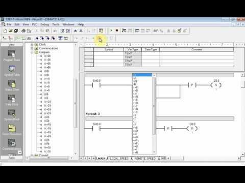 AC Motor Speed Control With PLC using Step7MicrowinPart3