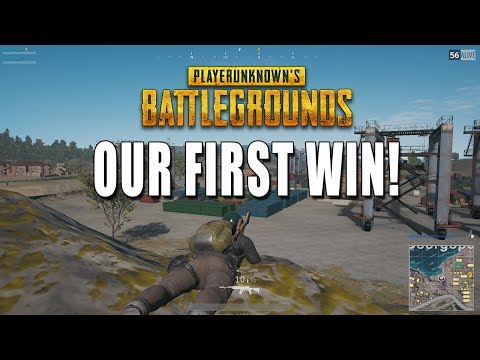 OUR FIRST WIN! - Playerunknown's Battlegrounds