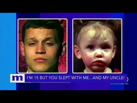 She lied and slept with my 14 year old son..and brother!   The Maury Show