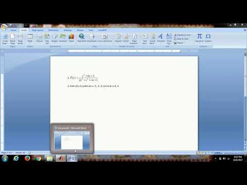 Tutorial for Writing Transfer Function of a System in MATLAB