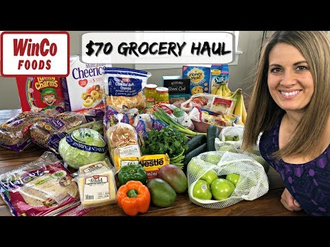 $70 WINCO HAUL :: FAMILY OF 5 :: WEEKLY GROCERY HAUL