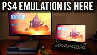 PlayStation 4 emulation on the PC is here   MVG
