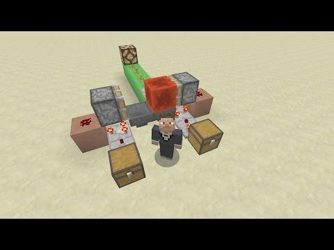 Minecraft Xbox One - 003 - Slime free hopper clock tutorial