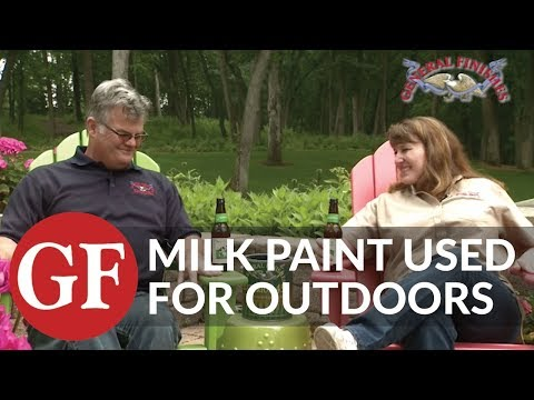 How to Apply Milk Paint on Outdoor Furniture