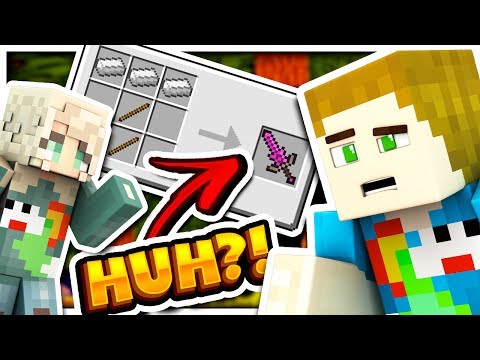 EVERY CRAFTING RECIPE CHANGED... - WHAT IS MINECRAFT?! W/ Thea