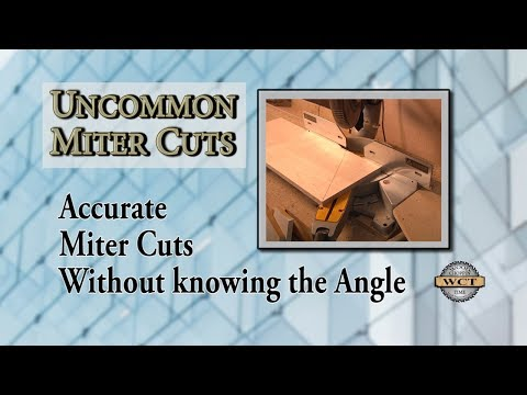 Accurate Cuts for Tricky Miters