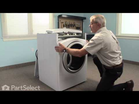 Dryer Repair - Replacing the Dryer Drum Slide (GE Part# WE1M481)