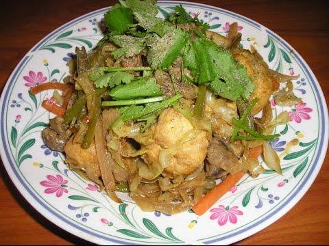 DoKhoChay- Stir Fried Veggies with Lemon Grass