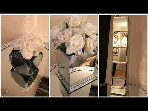 Dollar Tree DIY - 💕 Elegant Mirrored Vases 💕