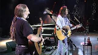 Neil Young with Willie Nelson - Four Strong Winds (Live at Farm Aid 1995)