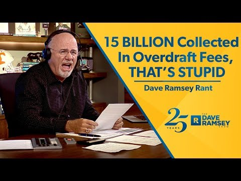 15 BILLION Collected In Overdraft Fees, That's STUPID